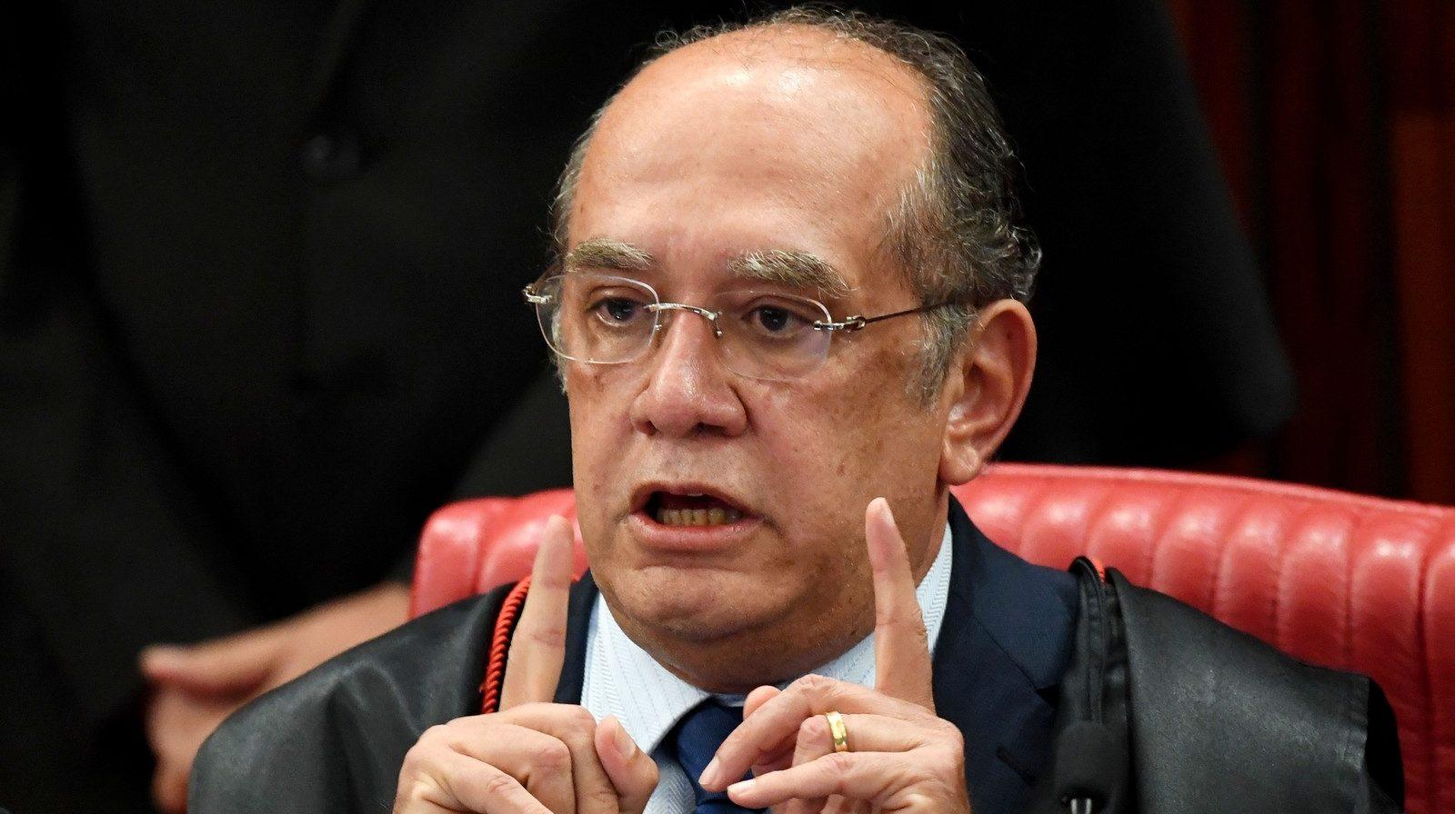 Gilmar Mendes pede providências ao STF após críticas de Kajuru