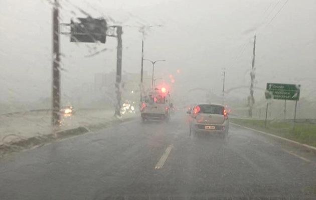 Inmet emite alerta para perigo potencial de chuvas fortes na PB