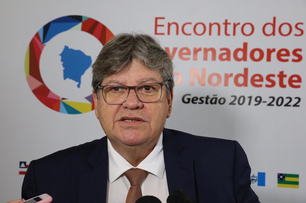 Em Brasília: João Azevêdo participa do Fórum de Governadores