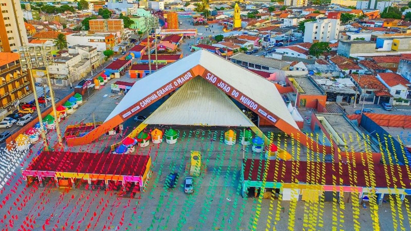 Comerciantes do Parque do Povo serão reembolsados após cancelamento do São João de Campina