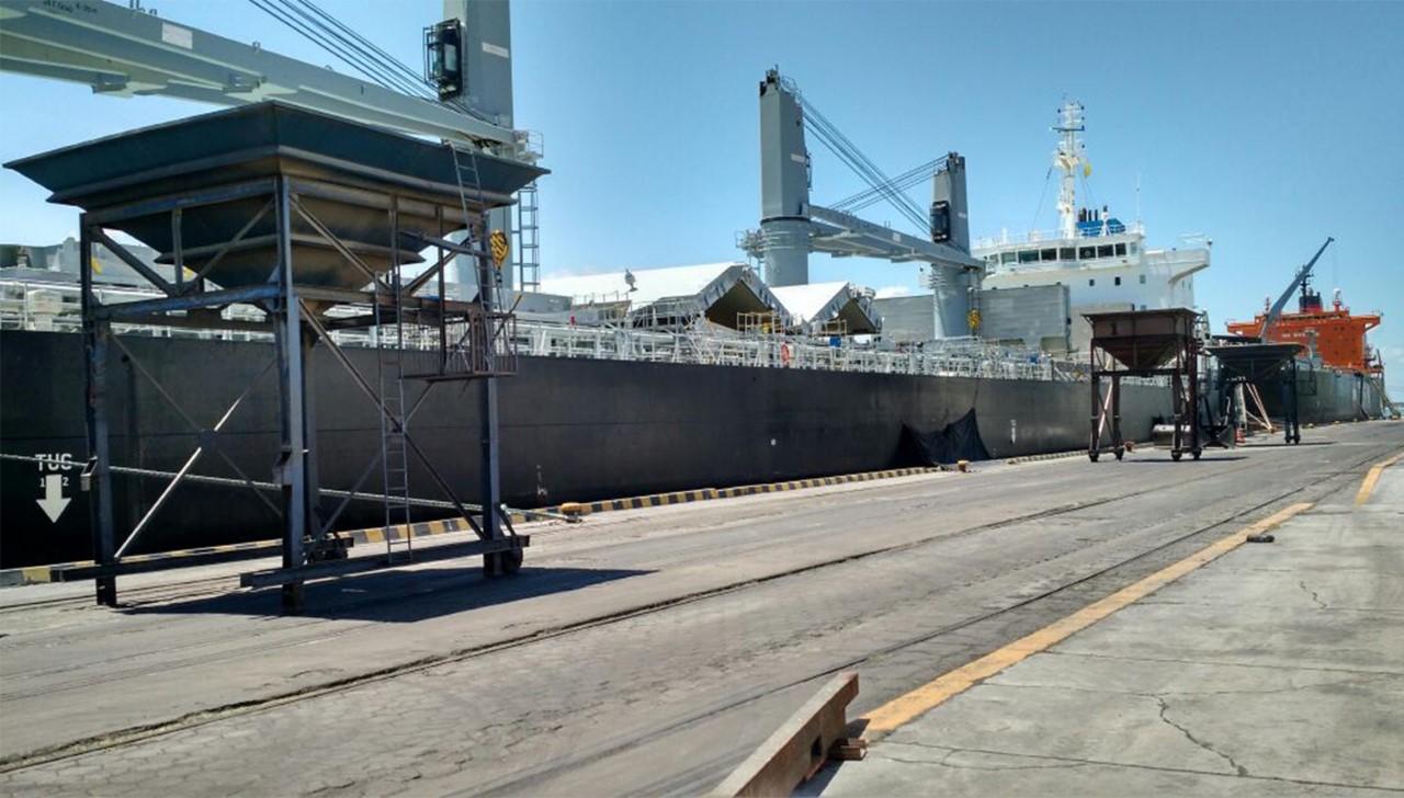 Porto de Cabedelo movimenta quase 40 mil toneladas na primeira semana de dezembro