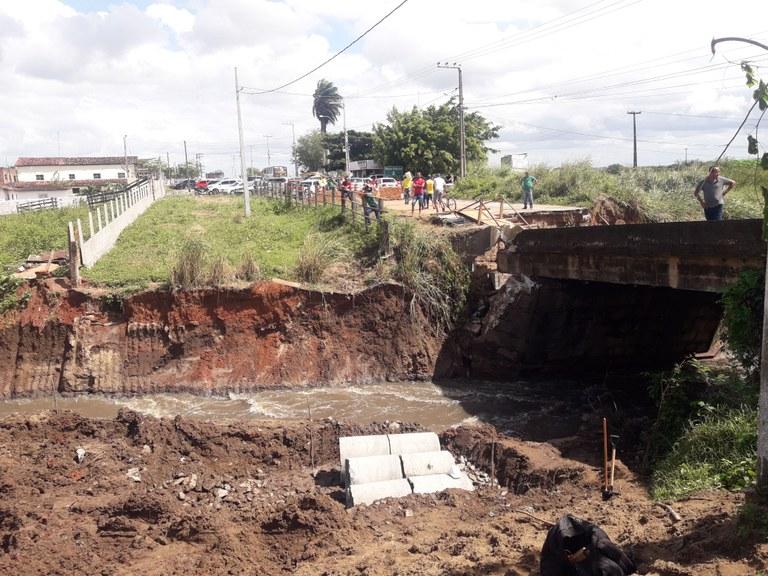 Desvio entre Santa Rita e Cruz do Espírito Santo deve ficar pronto até julho
