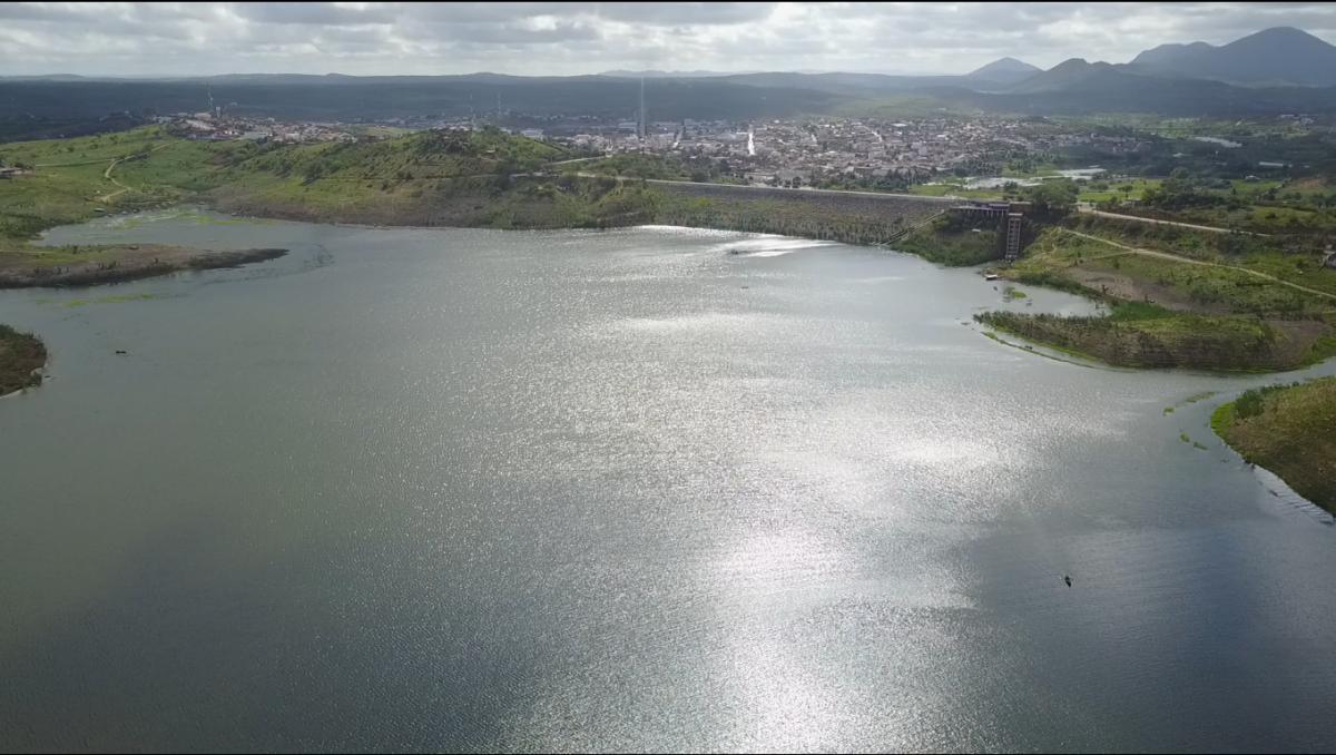 Paraíba tem 31 açudes sangrando; Boqueirão segue com 70%