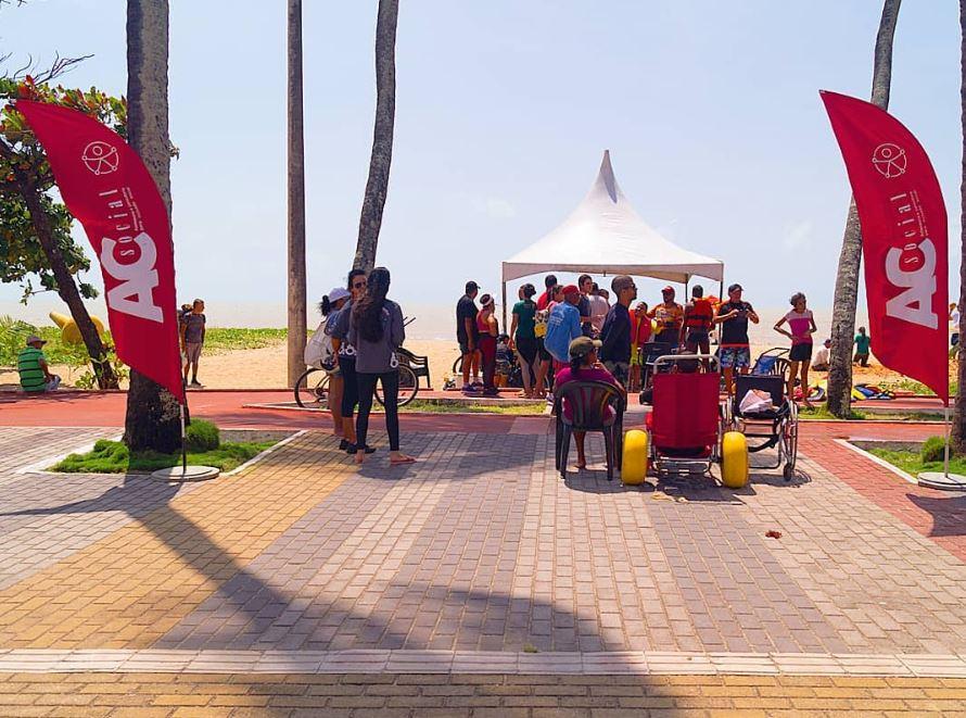 Após discriminação de moradores contra deficientes, protesto acontece em Cabo Branco