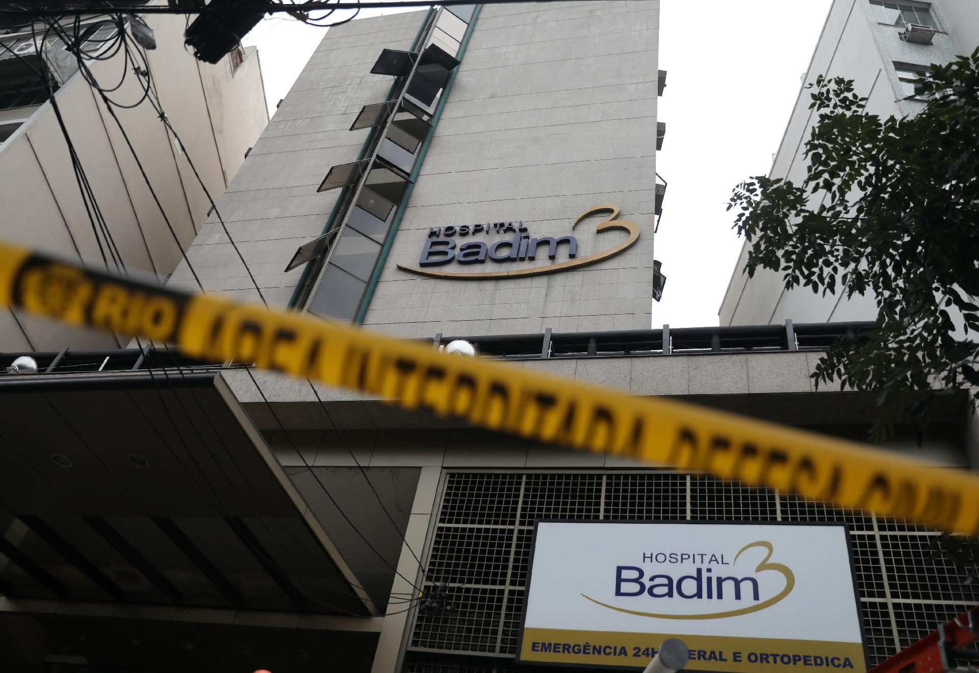 Perícia confirma que incêndio começou em gerador de hospital no RJ