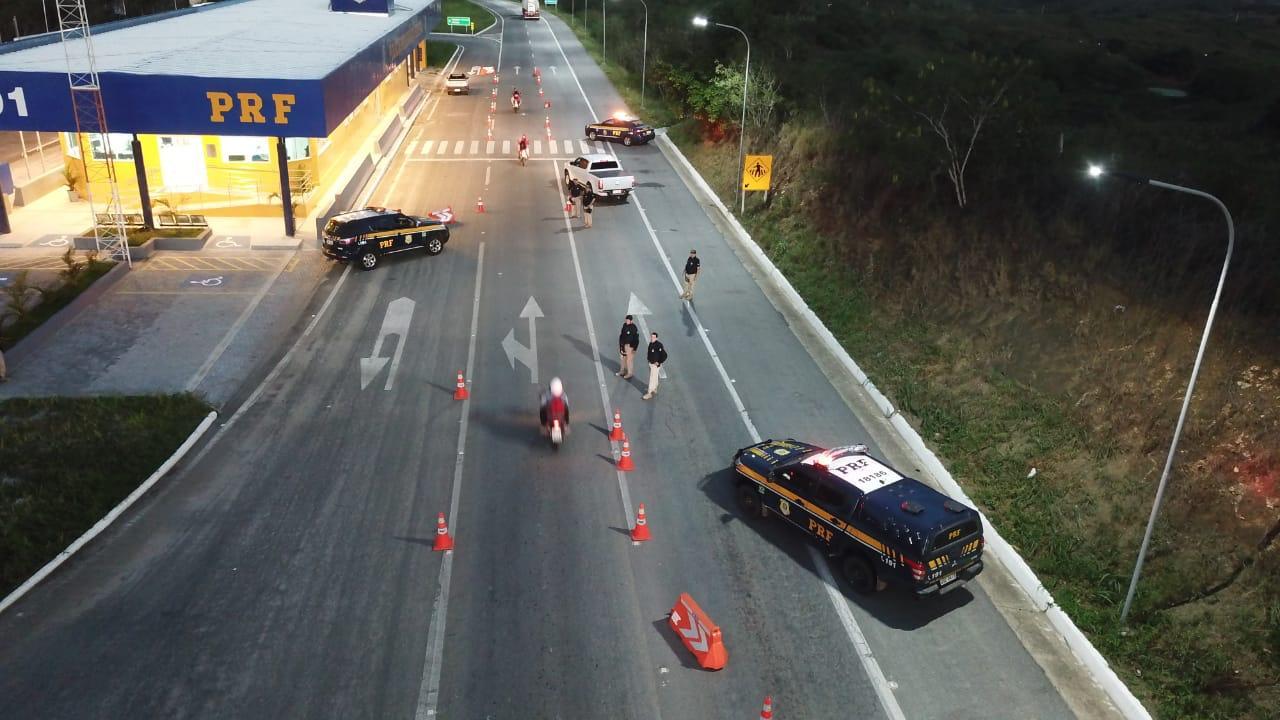 PRF já flagrou mais de 1300 infrações de trânsito durante Operação Carnaval na PB