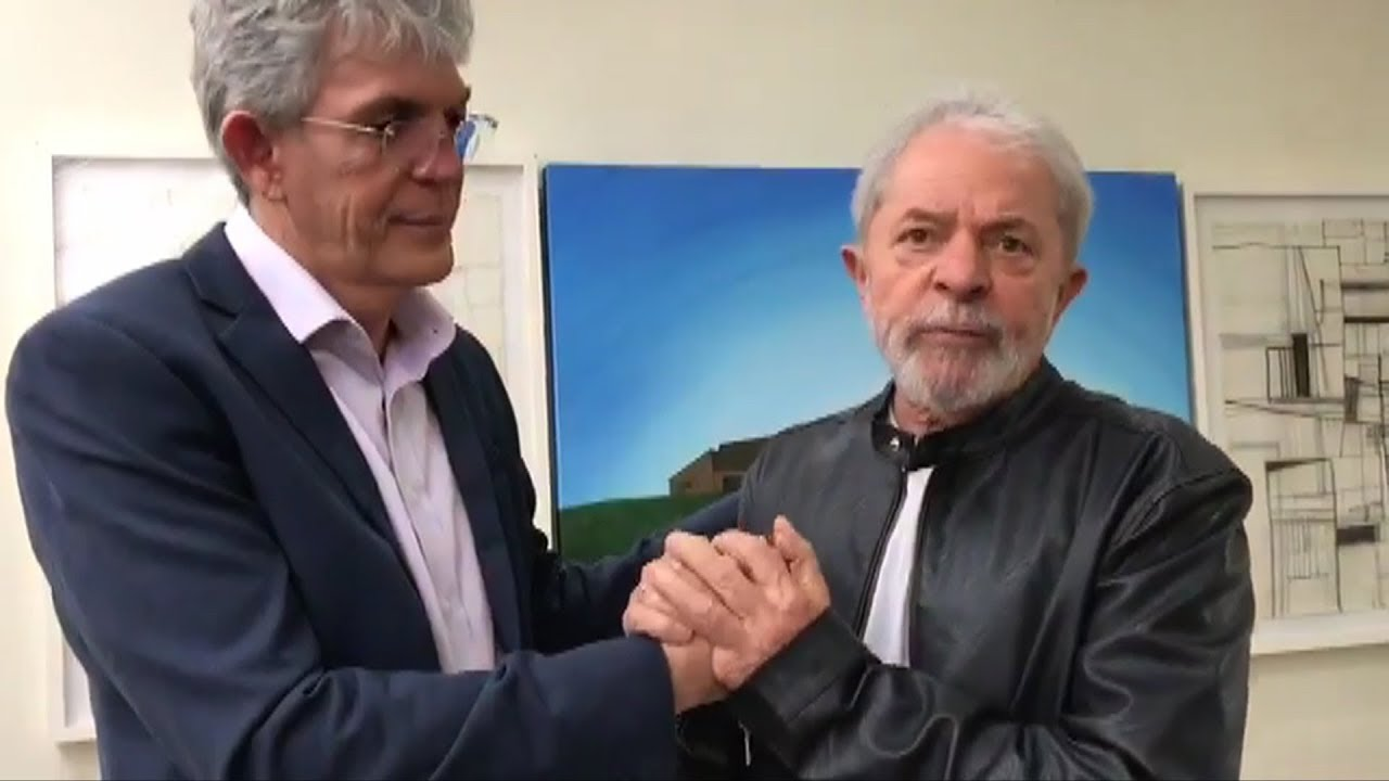 Patriota pede retirada de vídeo de Lula em campanha de Ricardo Coutinho