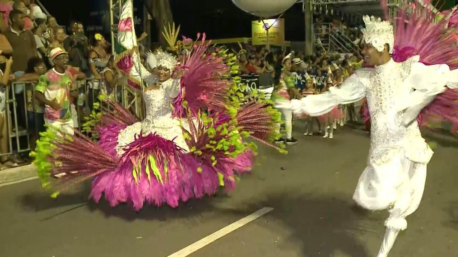 Unidos do Roger é a escola de samba campeã no Carnaval Tradição 2020