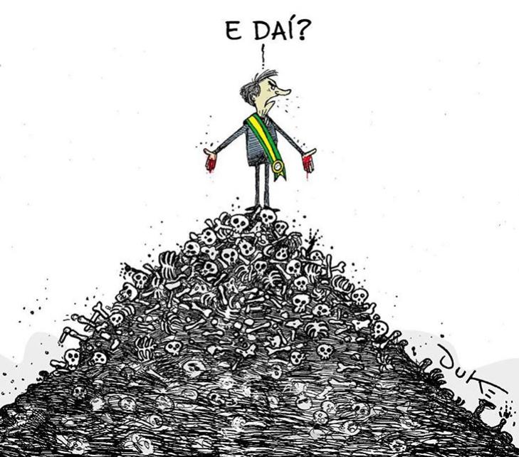 """E daí?"""", de Bolsonaro, é tema das charges desta quarta; veja ..."""