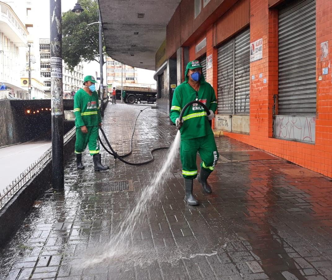 Prefeitura de João Pessoa retoma operação de higienização na reabertura do comércio