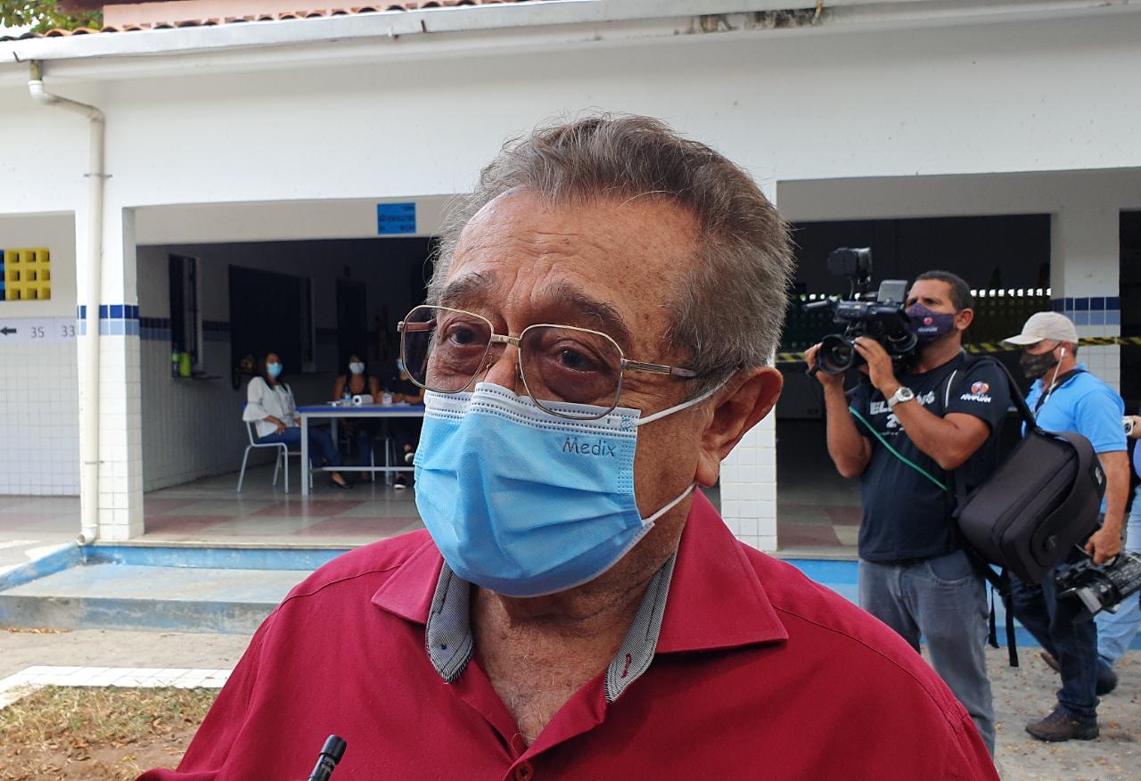 Senador José Maranhão decide ser transferido para Hospital Vila Nova Star, em São Paulo