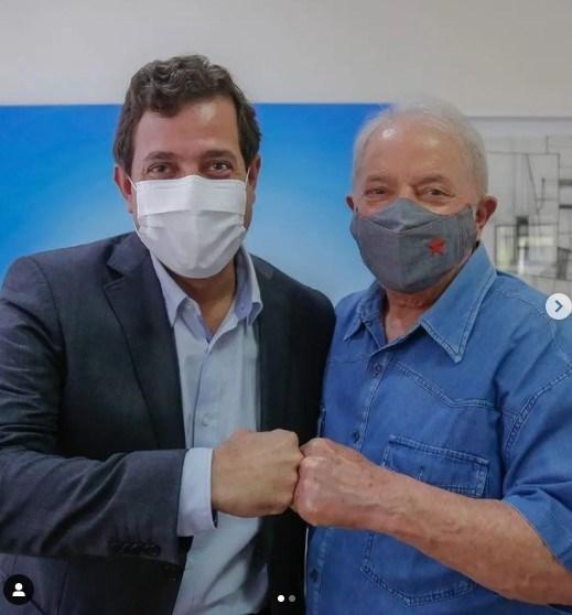 Mais um líder político paraibano se reúne com o ex-presidente Lula; Gervásio aproxima ainda mais PSB do PT no estado