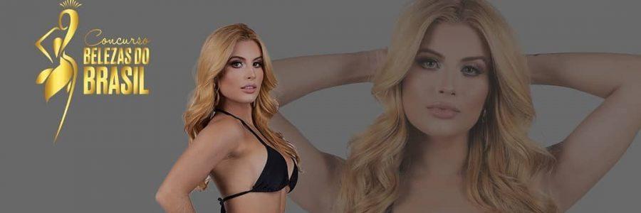 Paraibana Laryssa Mattos irá representar a PB no concurso Belezas do Brasil